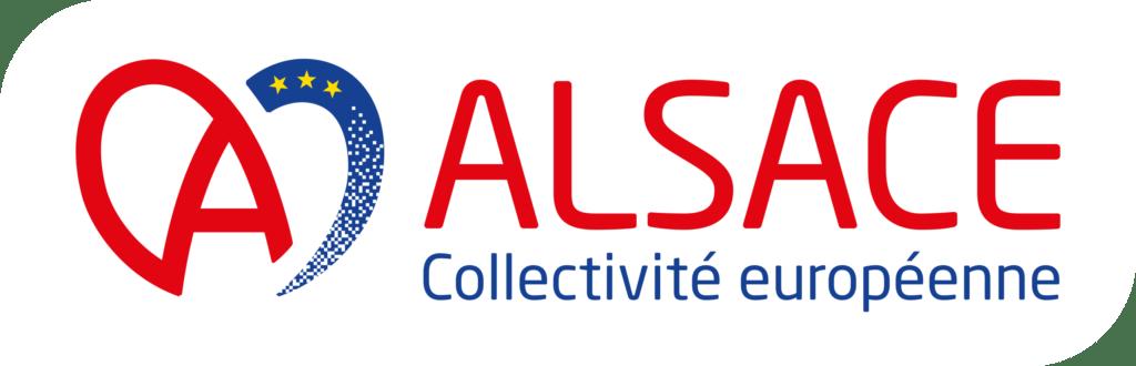 Logo de la collectivité européenne d'Alsace coeur